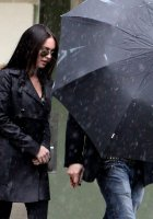 megan fox brian austin green umbrella