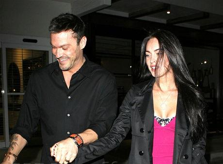 valentines day Megan Fox and Brian Austin Green