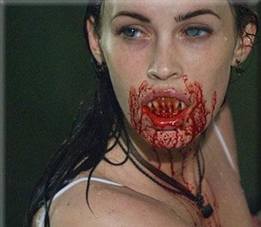 Megan Fox likes eating boys